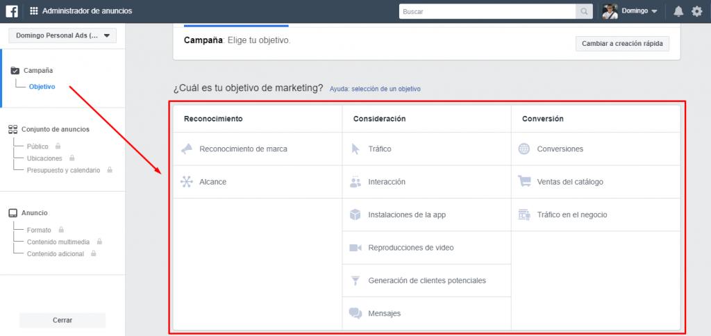 como crear un anuncio en facebook ads